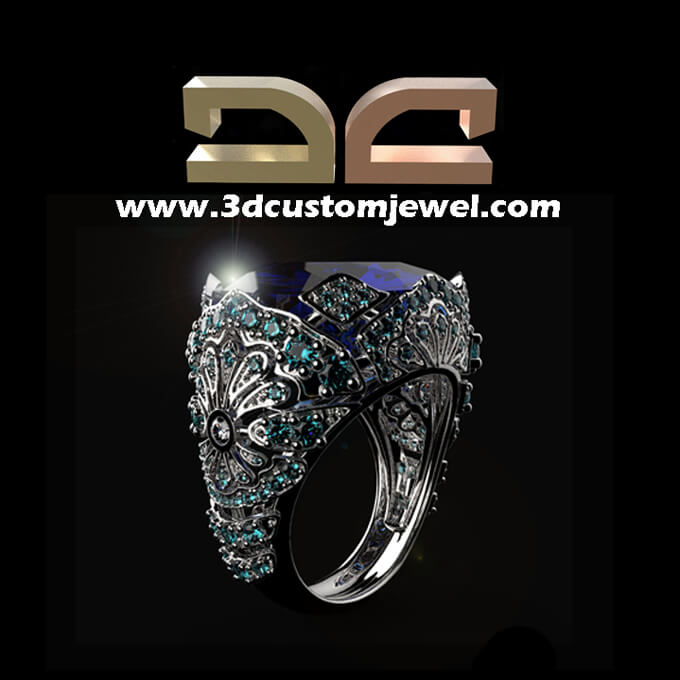 3D CAD Jewelry Design CAD CAM Jewelry Design Services